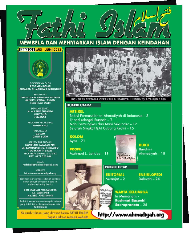 Fathi Islam Edisi 001 | 2013