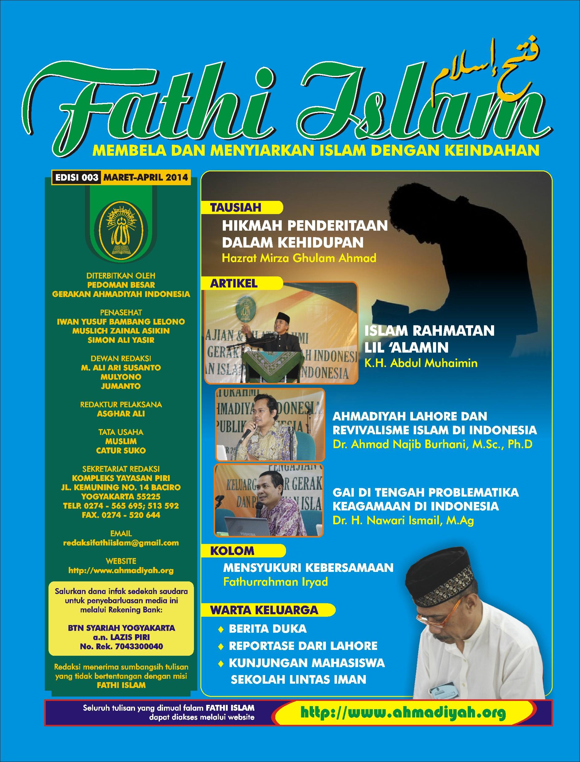 Fathi Islam Edisi 003 | 2014