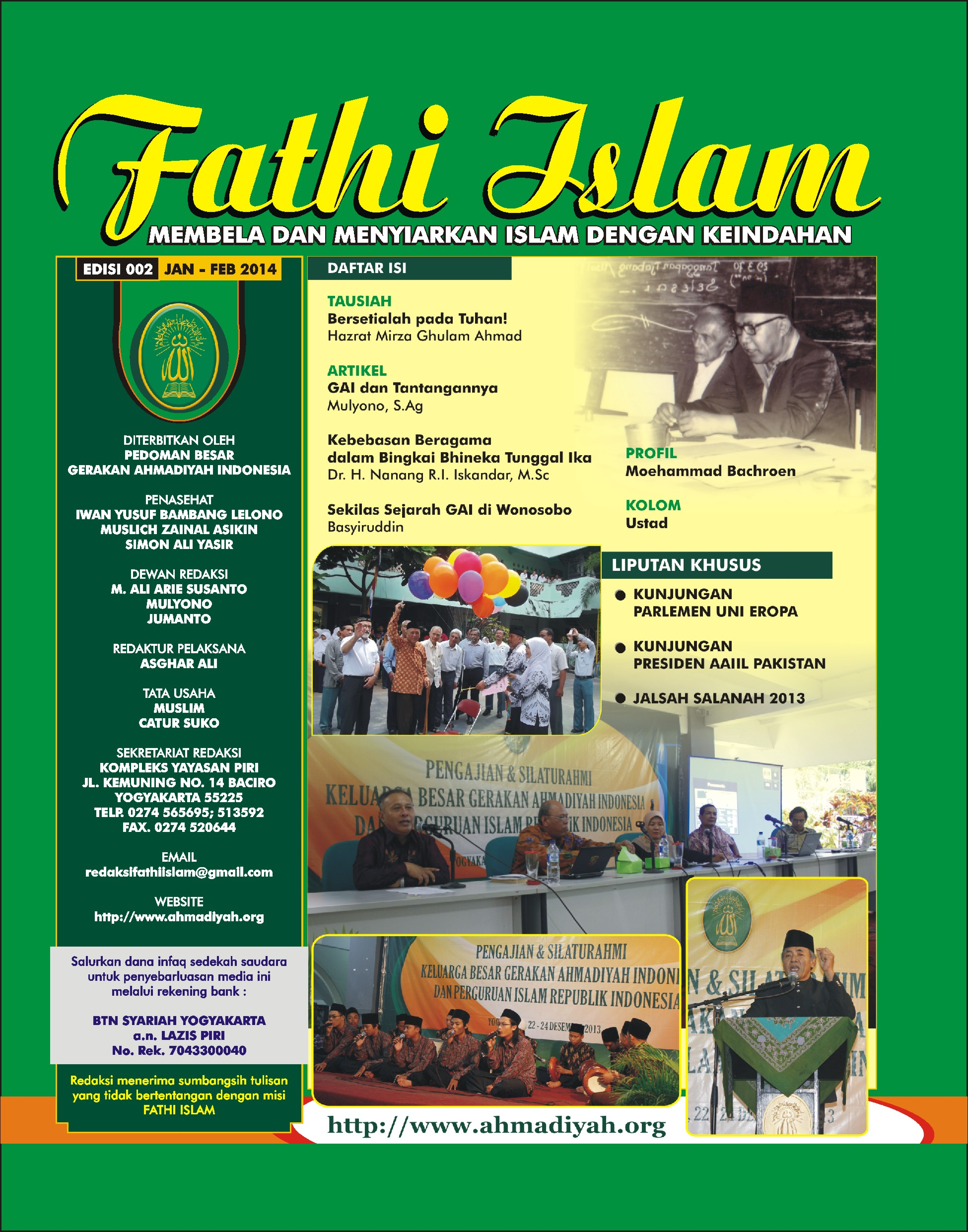 Fathi Islam Edisi 002 | 2014