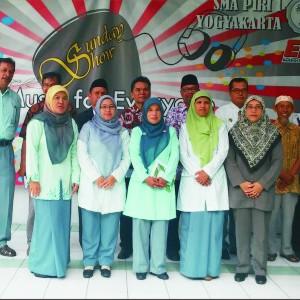 Kunjungan SMA Plus Al-Wahid