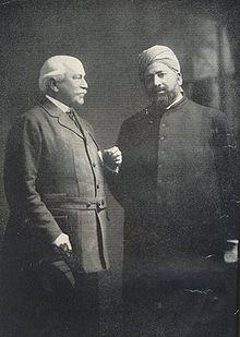 Lord Headley bersama Khawaja Kamaluddin